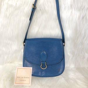 ❌ SOLD❌Louis Vuitton Vintage Blue Epi St. Cloud GM